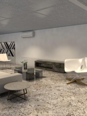 3d arquitetura 3d - sala