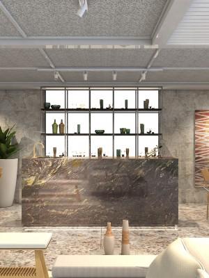 Maquete 3d - Sala - Arquitetura