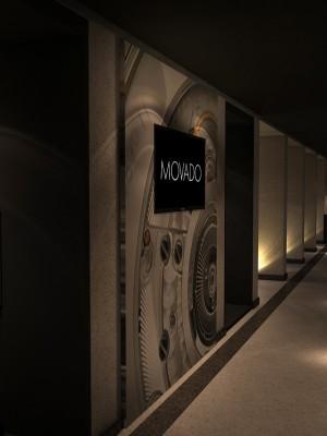 Maquete 3d - Movado 3d evento