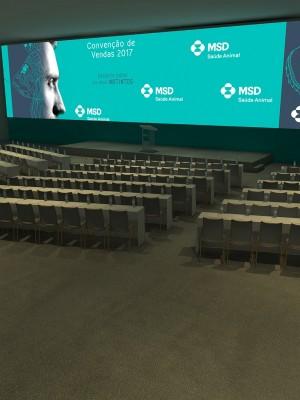 Maquete 3d - Plenária - MSD