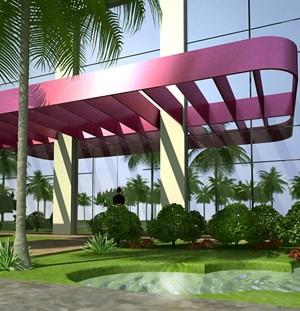 Maquete 3d - Fachada Arquitetura