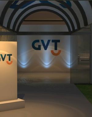 Maquete 3d - Evento - GVT