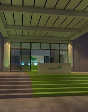 Maquete 3d - Evento 3d - Palácio dos Bandeirantes