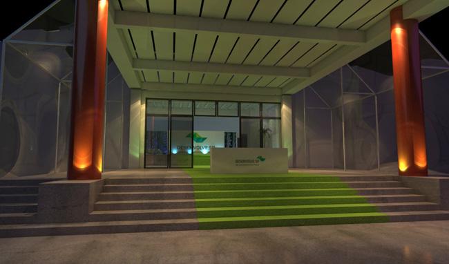 Maquete 3d – Evento 3d – Palácio dos Bandeirantes