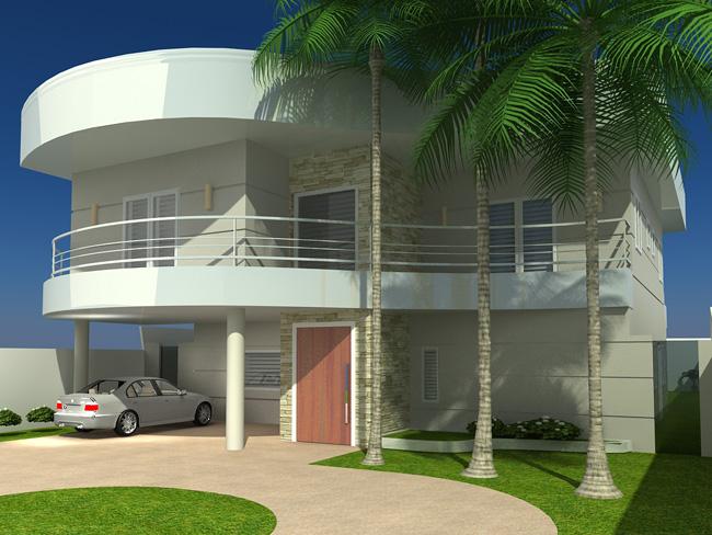 Arquitetura 3d – Fachada 3d