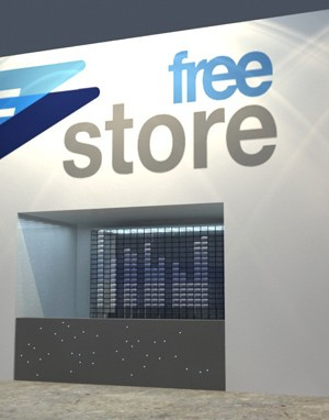 Maquete 3d - Free Store