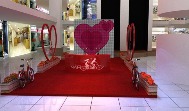 3d – Dia dos Namorados Shopping