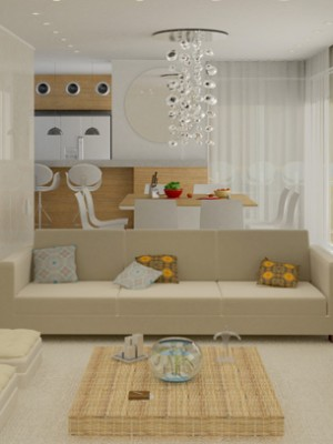 3d arquitetura - Sala - Apartamento