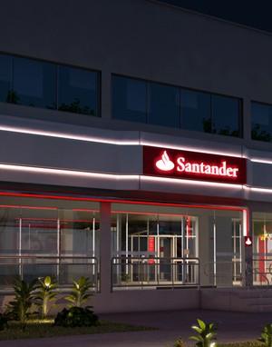 Maquete 3d - Santander