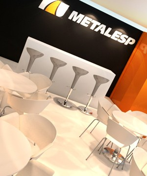 Stand 3d Metallesp