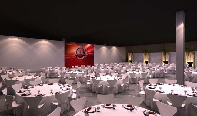 Evento 3d – Jantar 3d – Skill