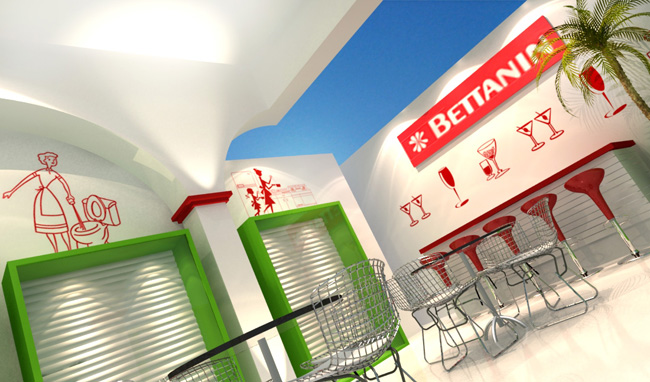 Stand 3d – Betanin – Maquete