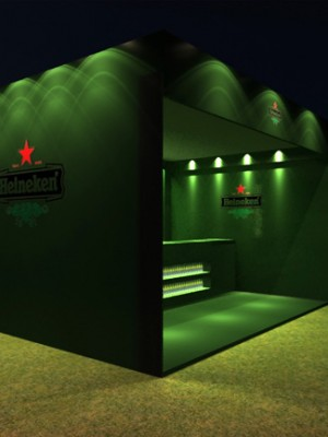 Evento 3d - Heineken