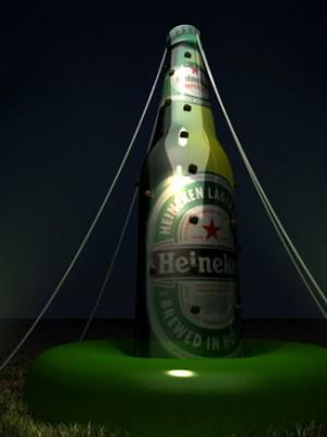 Evento Heineken - Cenografia 3d