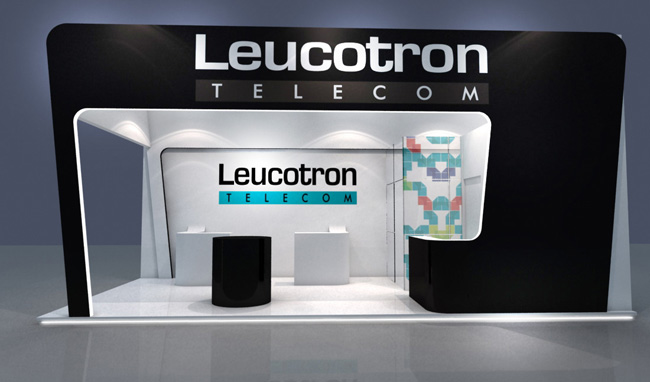Projeto 3d – Stand Leucotron