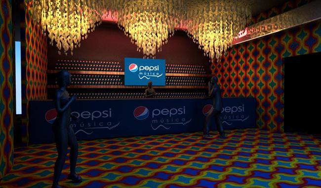 Cenografia 3d – Pepsi Hot