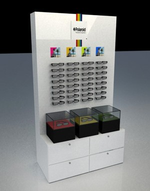 Display 3d - Polaroid