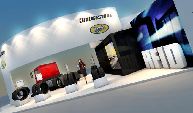 Stand 3d- Bridgestone