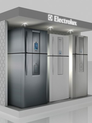 Stand 3d - Display Electrolux