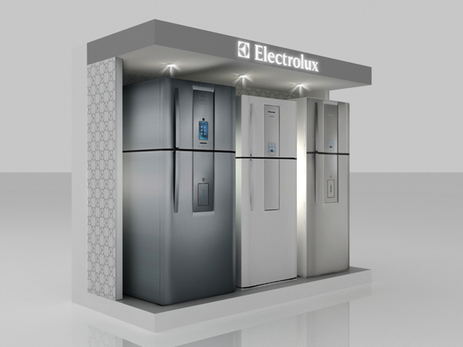 Stand 3d – Display Electrolux
