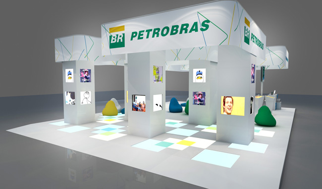 Stand 3d Petrobras