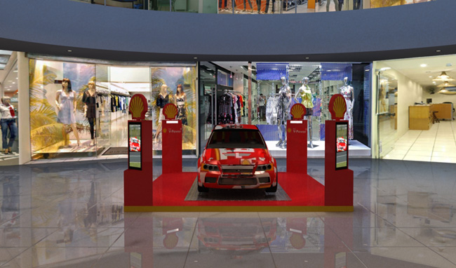 Stand 3d Shell Shopping