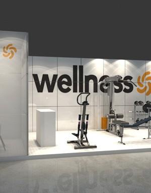 Stand 3d - Wellness