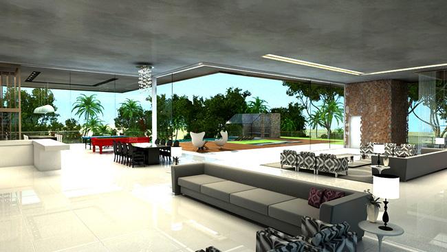 Sala Estar 3d