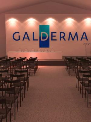 3d - Evento - Cenografia Galderma