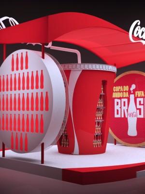 3d Stand Coca-Cola