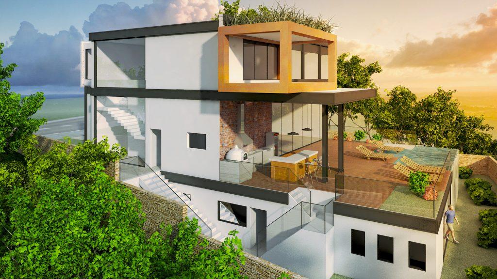 Maquete Arquitetura – Casa Alphaville
