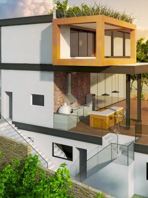 Maquete Arquitetura - Casa Alphaville