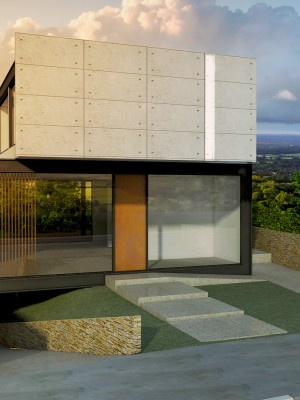 Arquitetura 3d - Fachada