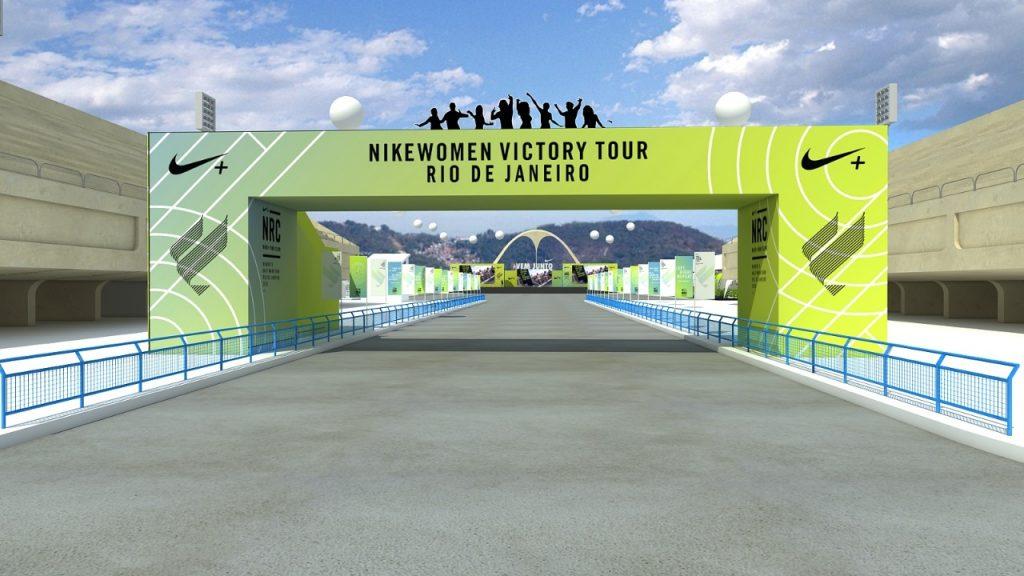 Projeto 3d – Evento Nike