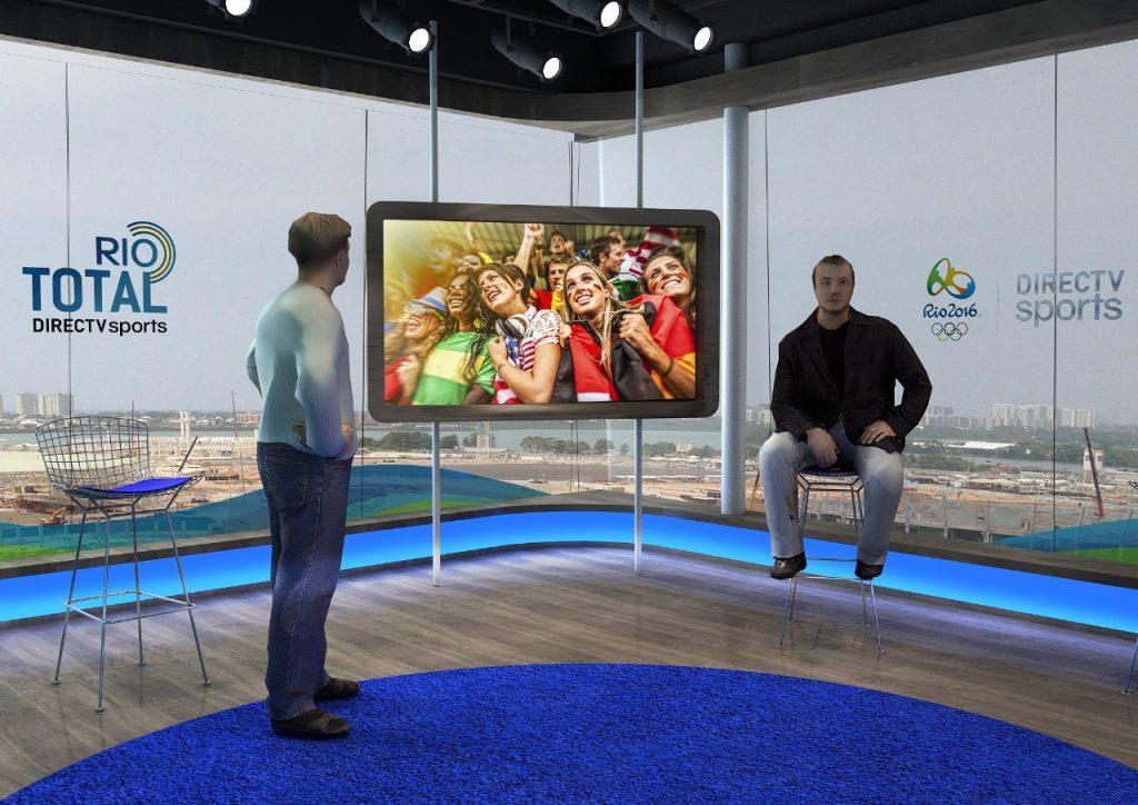 Maquete 3d – Cenário TV
