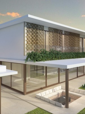 Maquete 3d - Arquitetura Area Externa