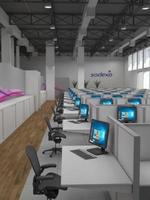 Perspectiva 3d - Arquitetura Corporativa