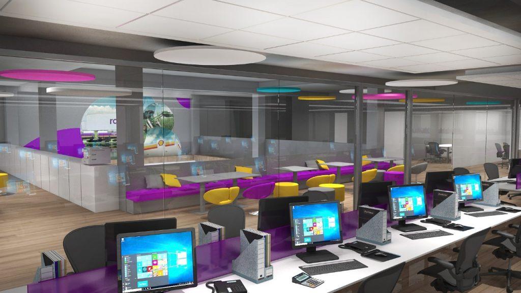Maquete 3d Arquitetura Corporativa